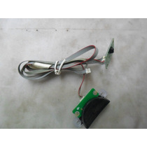 Botão Power + Sensor Para Tv Toshiba Mod: Le4052 C. 35015748