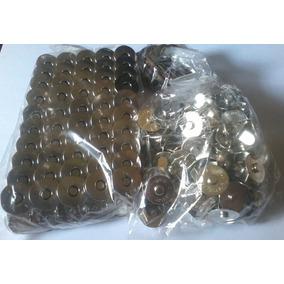 Botão Imantado - 200 Unidades - Cor Prata