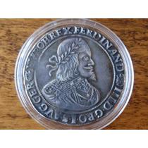 Hungria 1 Thaler 1649 - Rara No Estado