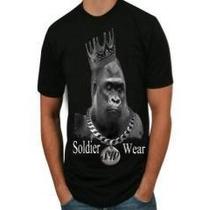 Camisas Hip-hop ,soldier Wear , 100% Do Melhor Algodao