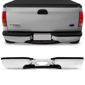 Parachoque Cromado Com Pisante Ford F250 1999 A 2011