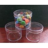 Envase Pote Pvccristal 100cc Tapa A Presion Candy,souvenires