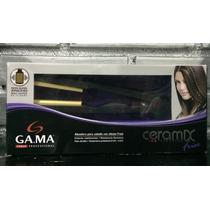 Plancha Profesional Gama Ceramic Ion Con Efecto Frise.