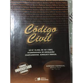 Livro Codigo Civil Universitario Editora Saraiva