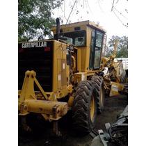 Motoconformadora Caterpillar 140h 120h Lista Para Trabajar