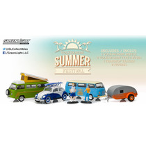 Greenlight 1:64 Motor World- Diorama - Vw Festival De Verano