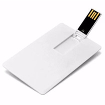 Pen Drive Cartão 4gb Para Personalizar (pen Card) - 1 Unid.
