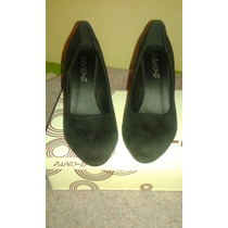 Zapatos Negros Terraplén