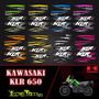Kit Calcomanias Kawasaki Klr 650 Personalizadas
