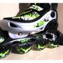 Patins In Line Barato Ajustavel 35 - 38 Roller +frete Gratis