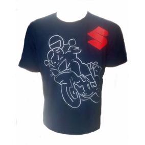 Camiseta Masculina Suzuki V-strom Big Trail Super Oferta