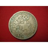Antiga Moeda De 400 Réis 1901 - Mcmi - V056 - L243