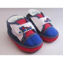 Sapatinho De Bebê Com Carrinho - Menino - Baby Confort