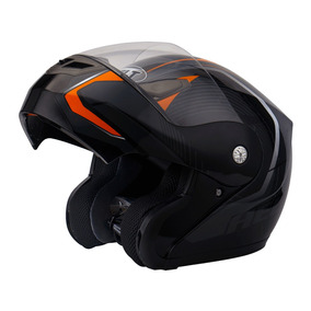 Capacete Helt New Hippo Faster - Articulado/ Robocop C/ Nf