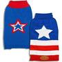 Disfraz Para Perro Patrón De La Bandera De Mascotas Suéter