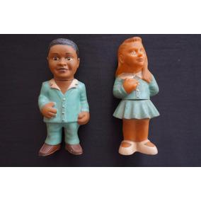 Bonecos Cirilo E Maria Joaquina Novela Carrossel Vinil 1970