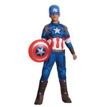 Disfraz Capitan America Traje Niño Halloween Avengers