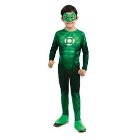 Disfraz Niño Traje De Linterna Verde Hal Jordan Niño - Un C