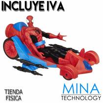Vehiculo Y Figura De Acción De Spiderman - A74252211