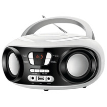 Rádio Portátil Boombox Mondial Bx-14 Com Entrada Usb Branco