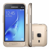 Smartphone Galaxy J1, Mini J105b Dourado,android 5.1, 8gb, 5