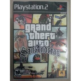 Gta San Andreas Ps 2 Game - Frete Grátis