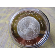 Moneda Mexico Resplendor 8r 100 Pesos Herencia Numismatica