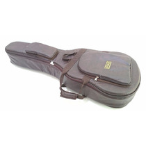 Capa Bag Para Guitarra Semi Acústica Couro Ecológico