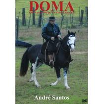 Dvd Duplo Doma E Treinamento Do Cavalo Crioulo