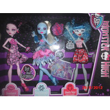 Oferta Monster High Baile Draculaura Abbey Ghoulia 3 Pack