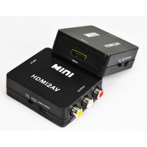 Mini Adaptador Conversor De Hdmi Para Video Av Full Hd 1080