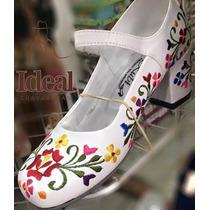 Zapatillas Para Jarana Yucateca, Envio Gratis