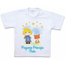 Camiseta Pequeno Príncipe Blusa Personalizada Roupas