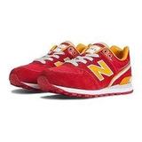 Tenis New Balance 574 Rojo-naranja Originales