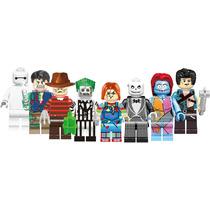 Jack Y Sally Bettlejuice Freddy Chucky Compatible Con Lego