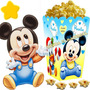 Kit Imprimible Mickey Bebe Disney Cotillon Y Candy Bar 2x1