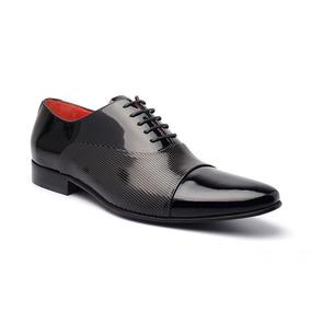 Sapato Social Masculino Verniz Slv 13000 Di Pollini