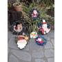Adornos Navidad Puerta Veleros Servilleteros