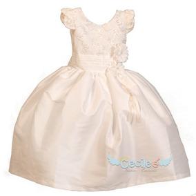 Vestido De Fiesta Niña Elegante Pajecita 010s