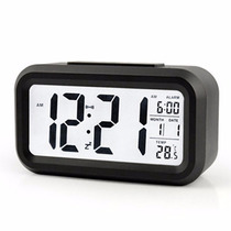 Reloj Despertador Digital Luz Led Snooze Temperatura, Stock!