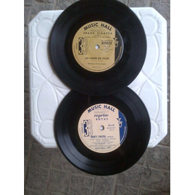 Lote 2 Discos De Frank & Nancy Sinatra Vinilos Simple Vg+