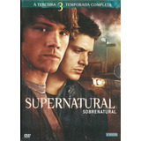 Box Supernatural - 3 Temporada (5 Dvds) - Sobrenatural