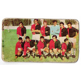 Figurita Tarjeton Futbol 1971 Colon Nº 19