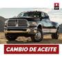 Cambio Aceite Y Filtro Dodge Ram 3.9 V6-5.2 V8-5.9 V8