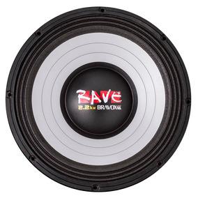 Falante Woofer 15 Pol. Bravox Rave Rv15-s4 2.2kw 1100w Rms