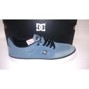 Tênis Dc - Wes Kremer S (light Blue)