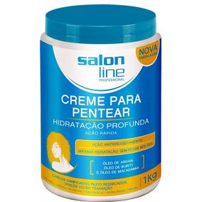 Creme Pentear Salon Line Hidratação Profunda Cachos 1kg