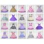 Kit Revendedor Com 25 Vestidos Infantis