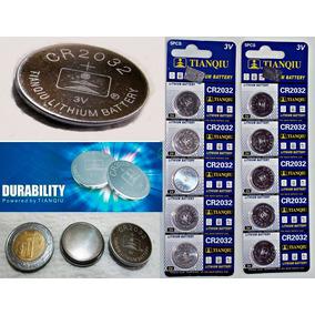 10 Pilas Cr2032 Tianqiu Bateria Litio 3v Reloj, Cpu,control