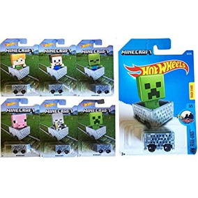 Juguete Hot Wheels 2016 Exclusive Minecraft 6-car Set &